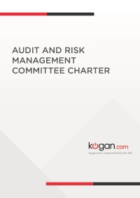 Audit and Risk Management Committee Charter