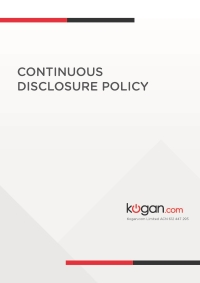 Continuous Disclosure Policy