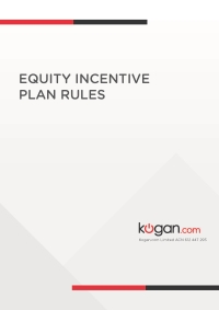 Equity Incentive Plan Rules