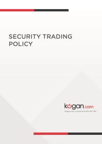Security Trading Policy