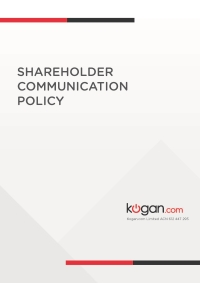Shareholder Communication Policy